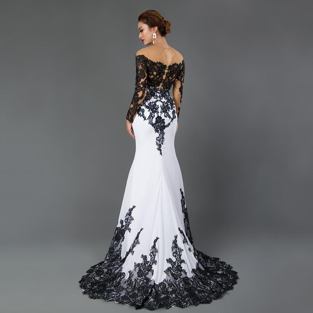 10f73cd9a60d285 Вечернее облегающее платье. Вечернее черно-белое платье.Выпускное  облегающее платье черно-белое, цена 4 580 грн., купить в Харькове — Prom.ua  (ID#868617473)