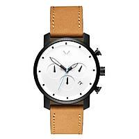Часы мужские MVMT CHRONO WHITE BLACK TAN