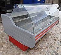 Холодильная витрина гастрономическая «Технохолод Невада» 1.9 м. (Украина), очень широкая выкладка 80 см. Б/у , фото 1