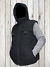 Жилетка - безрукавка утеплённая  BLACK , фото 6