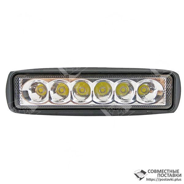 18W / 30 (6 X 3W / узкий луч, прямоугольный корпус) 1320 LM LED фара рабочая 1043 (GF-006Z03A)