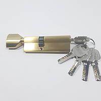 Цилиндровый механизм ZETE 90 мм (35*55) GP (матовое золото), фото 1