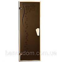 """Двери для сауны Tesli """"Graphic"""""""
