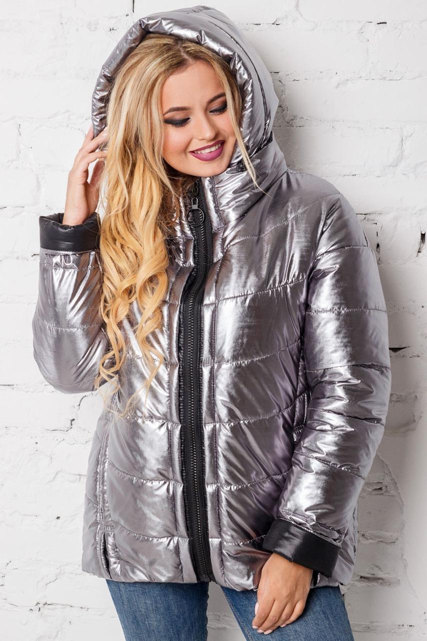 Демісезонна куртка жіноча з 44 по 56 розмір 4цвета