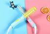 Мини плойка-расческа для укладки и завивки (Mini curling iron), фото 7