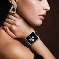 Фитнес браслет CK19 ,black, цветной дисплей 1,3 дюйма , тонометр и пульсомер