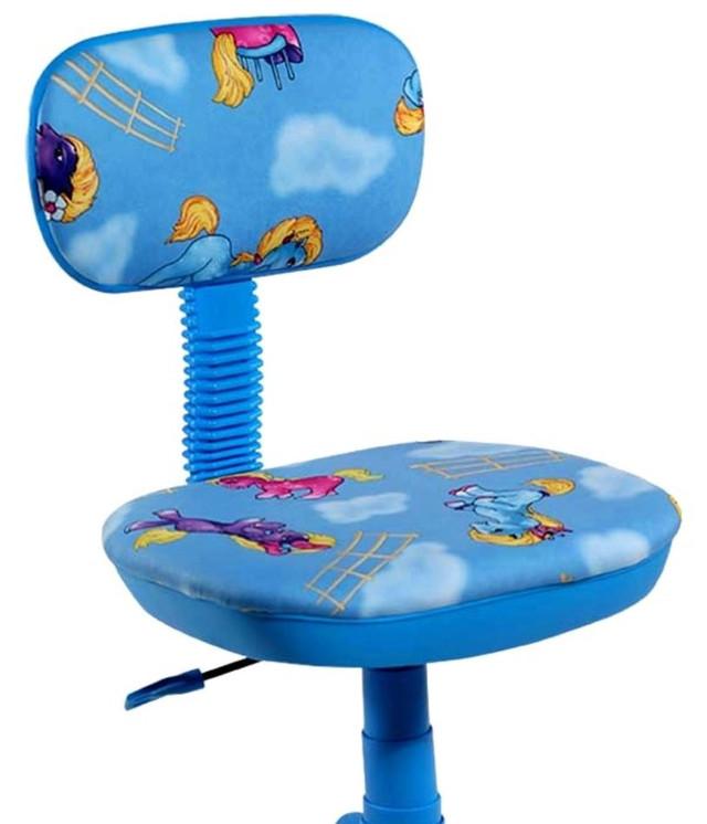 Кресло Свити голубой Пони голубые (Микровелюр) фото 2