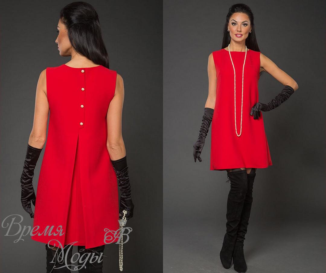 1352bfdcdef Элегантное и стильное красное платье. 4 цвета - Bonoshop.in.ua - Fashion