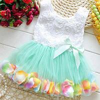 Платье с фатиновой юбкой размер 86.