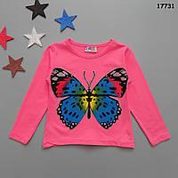 "Кофта ""Бабочка"" для девочки. 86-92 см, фото 1"
