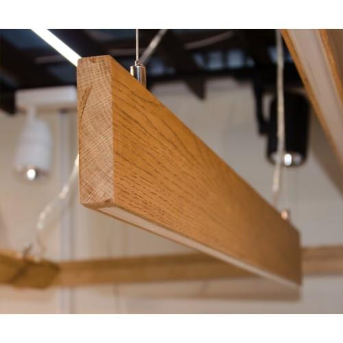 Vela Ramita-S 30W 2850Lm деревянный светодиодный линейный светильник