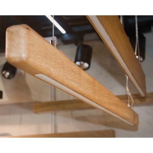 Vela Rafter 30W 2850Lm деревянный светодиодный линейный светильник