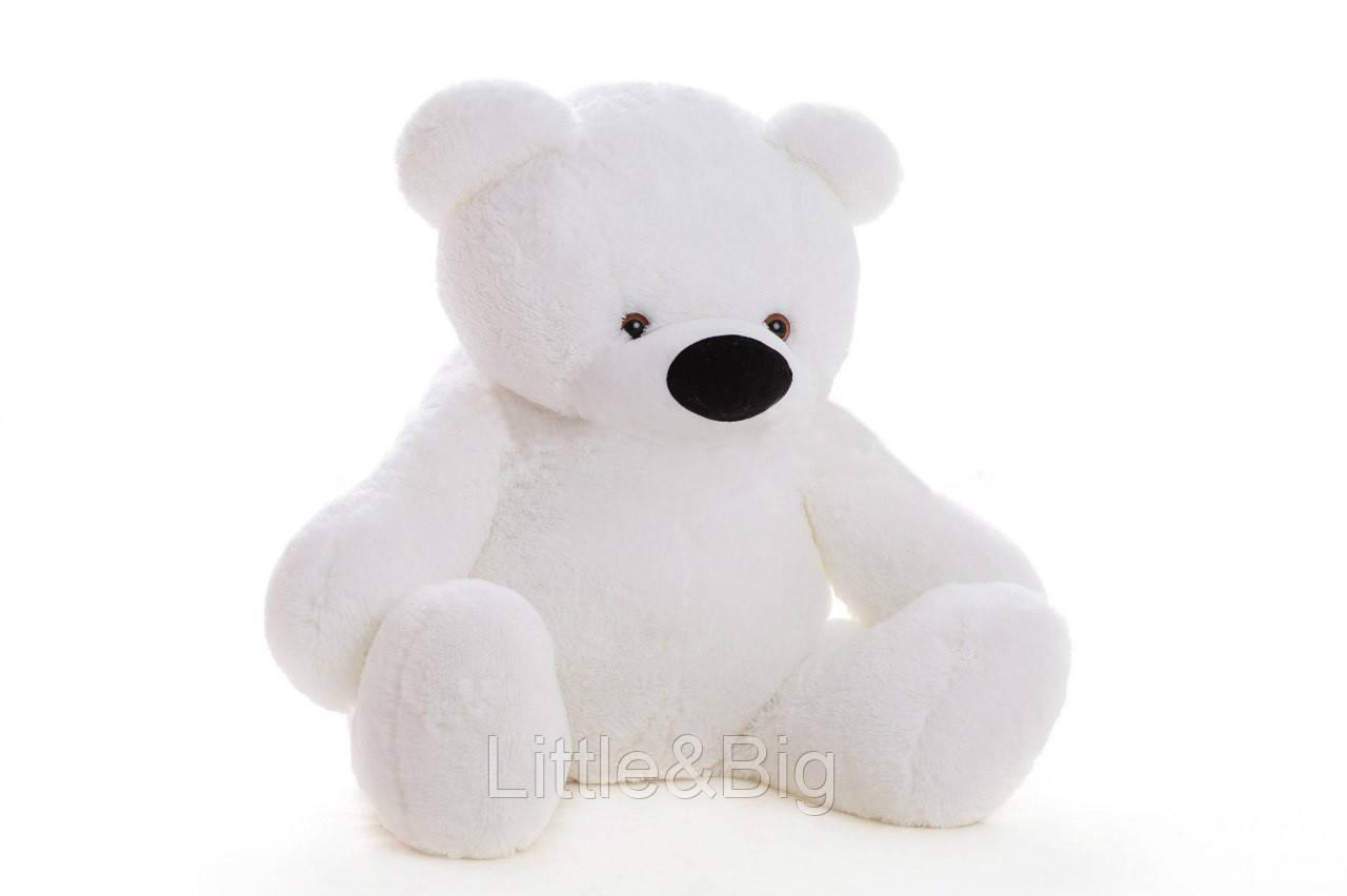 Большой плюшевый Медведь Бублик 180 см белый