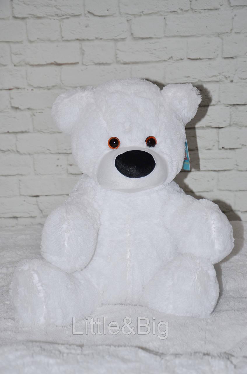 Мягкая игрушка мишка  Бублик 70 см белый