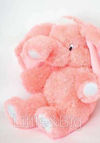 Мягкая игрушка  Слон 65 см розовый