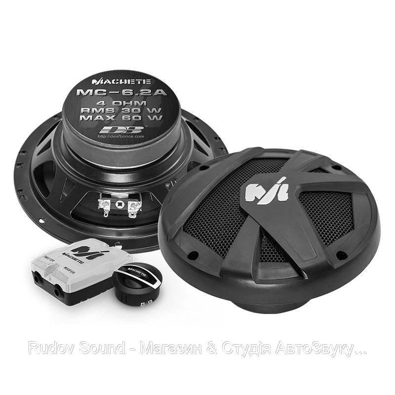 Компонентная акустика Deaf Bonce Machete MC-6.2A (16.5см | 30/60w | 89db | 55-20000hz)