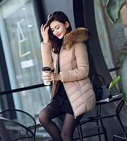 Женская зимняя куртка с мехом. Модель 6379., фото 8