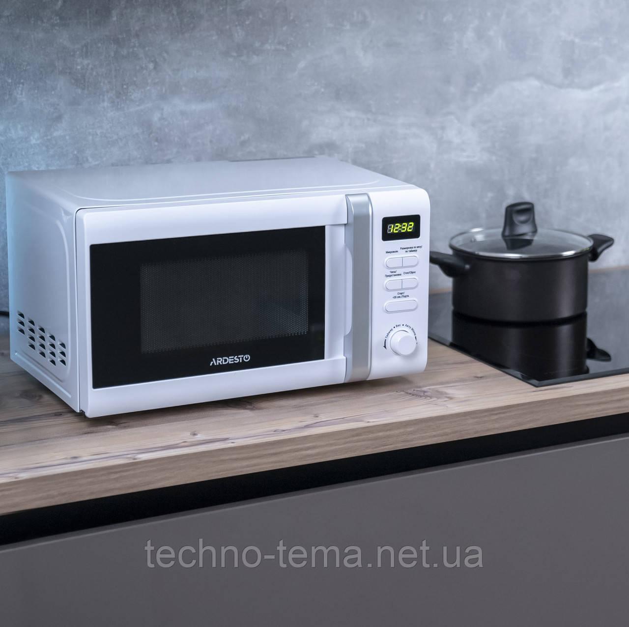 Микроволновая печь 20 литров Ardesto MO-S730W