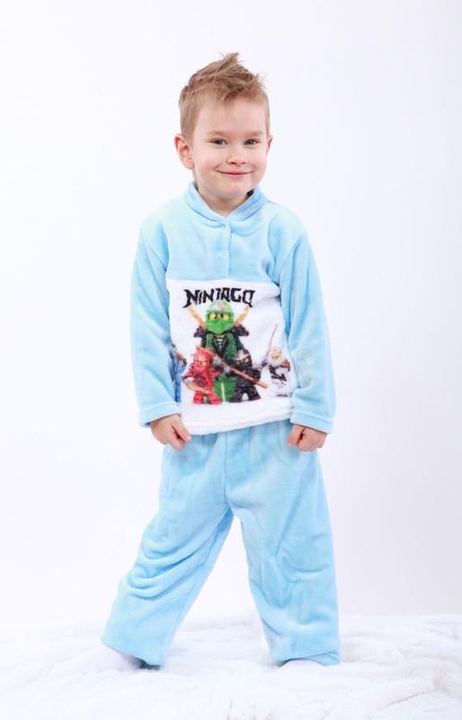 Пижама махровая с рисунком