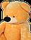 Плюшевый медведь 200 см медовый , фото 5