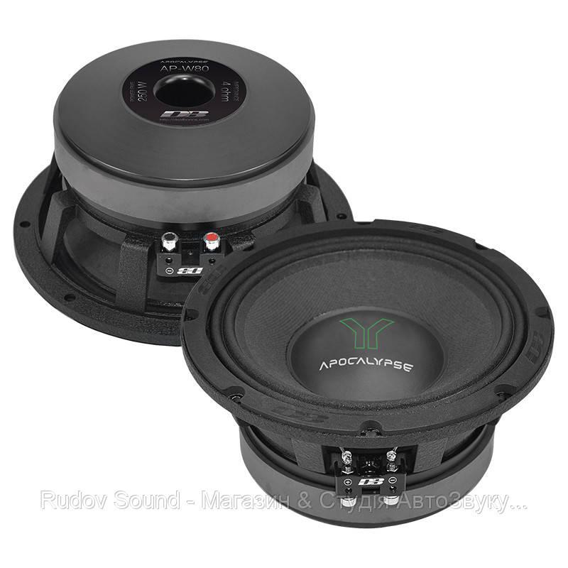 Эстрадная акустика Deaf Bonce Apocalypse AP-W80 (20см   250/500w   92db   50-1000hz)