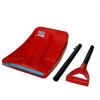 Лопата для уборки снега автомобильная 91 см INTERTOOL AT-0131