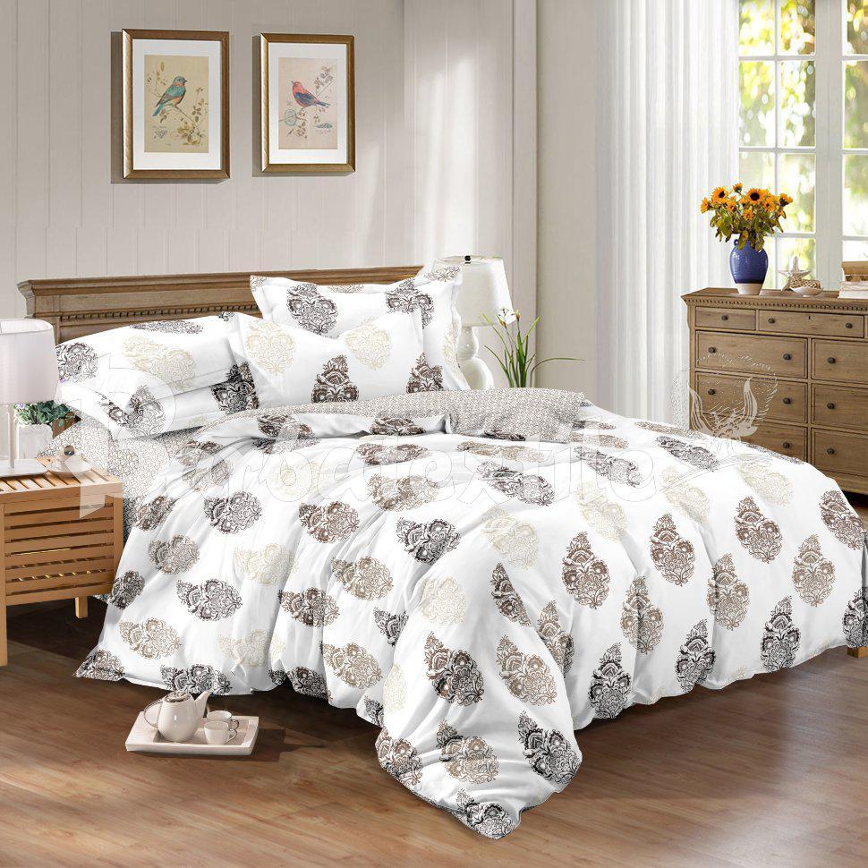 Комплект постельного белья из натурального сатина Липа