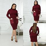 Модное женское нарядное платье,размеры  l (48-50), xl (52-54)., фото 2