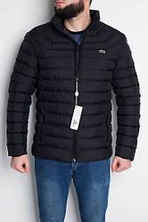 "Куртка мужская Lacoste Down Bubble Jacket ""Black"" ( в стиле Лакоста )"