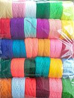 Нитка акриловая для вышивания, вышивки