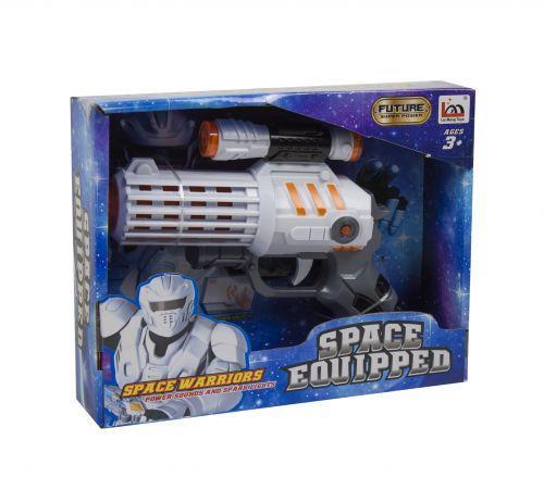 """Музыкальный игрушечный бластер """"Space Warrior"""""""