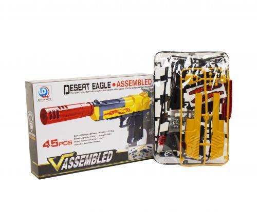 """Игрушечный пистолет-конструктор """"Desert Eagle"""" (45 деталей)"""