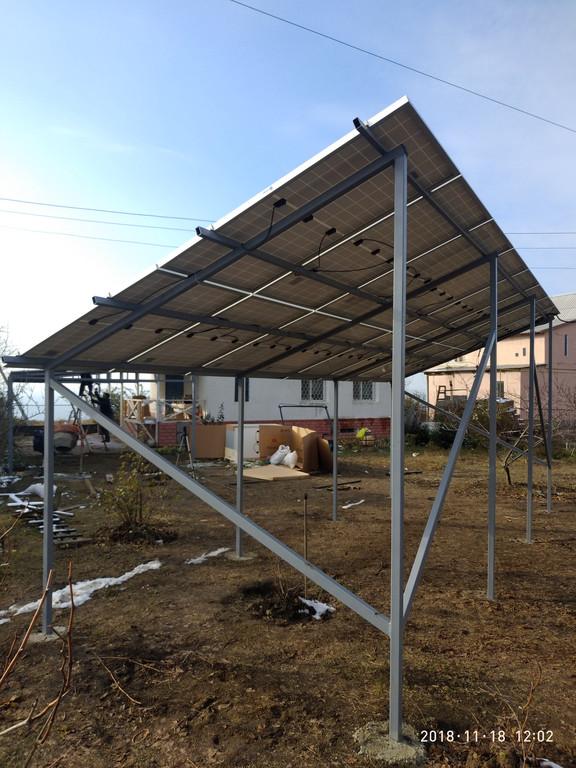Сетевая солнечная электростанция 30 кВт, Одесса