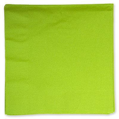 Серветки паперові двошарові святкові салатові 10 шт