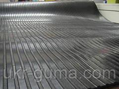 Автодорожка резиновая полоска, размер 1,3 x 8,8 м