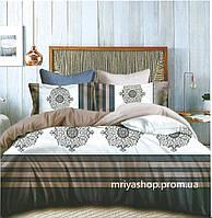 Комплект постельного белья Фланель байка Евро размер