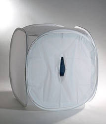 Лайтбокс (light box)  Лайт куб 120 х 120 см. - для предметной съемки товаров для интернет-магазинов