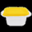 """Контейнер (емкость) для пищевых продуктов """"Омега"""" квадратный - 0,45л, фото 3"""