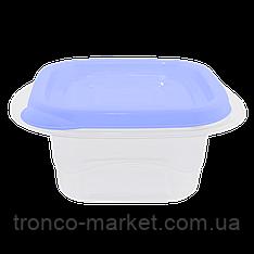 """Контейнер (емкость) для пищевых продуктов """"Омега"""" квадратный - 0,45л"""