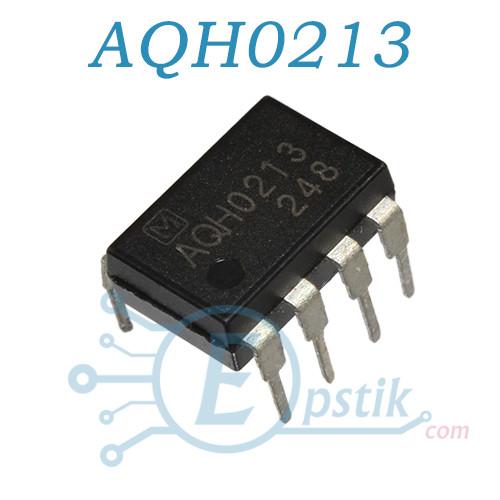 AQH0213, твердотельные реле, 300мА 600В, DIP7