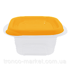 """Контейнер (емкость) для пищевых продуктов """"Омега"""" квадратный - 1л"""