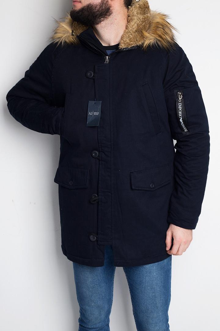 "Куртка мужская Emporio Armani ""Blue"" ( в стиле Армани )"
