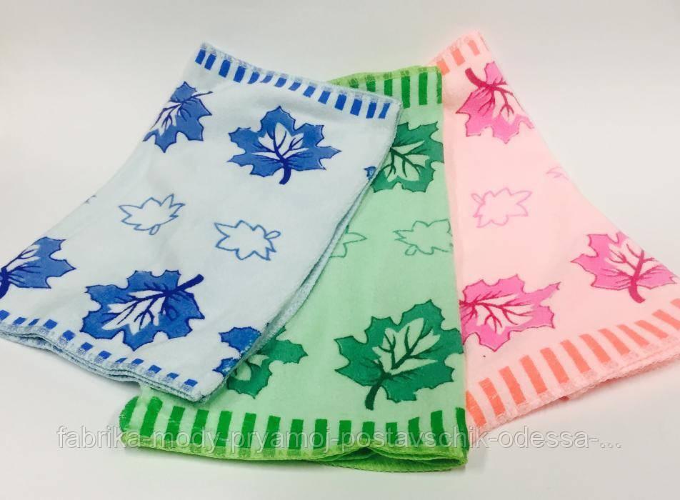 Полотенце для кухни Кленовый лист микрофибра
