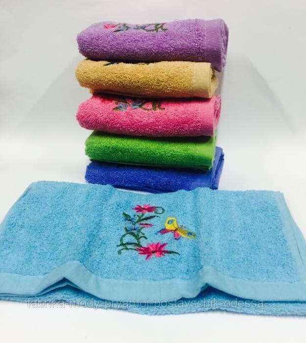 Кухонное полотенце Цветок Бабочка