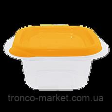 """Контейнер (емкость) для пищевых продуктов """"Омега"""" квадратный - 2,1Л, фото 2"""