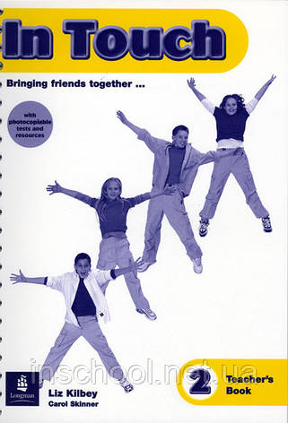 In Touch East Mediterranean Teachers Book 2 ISBN: 9780582306462, фото 2