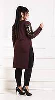 Женская туника тёплая с крыльям с 42 размера по 56, фото 1
