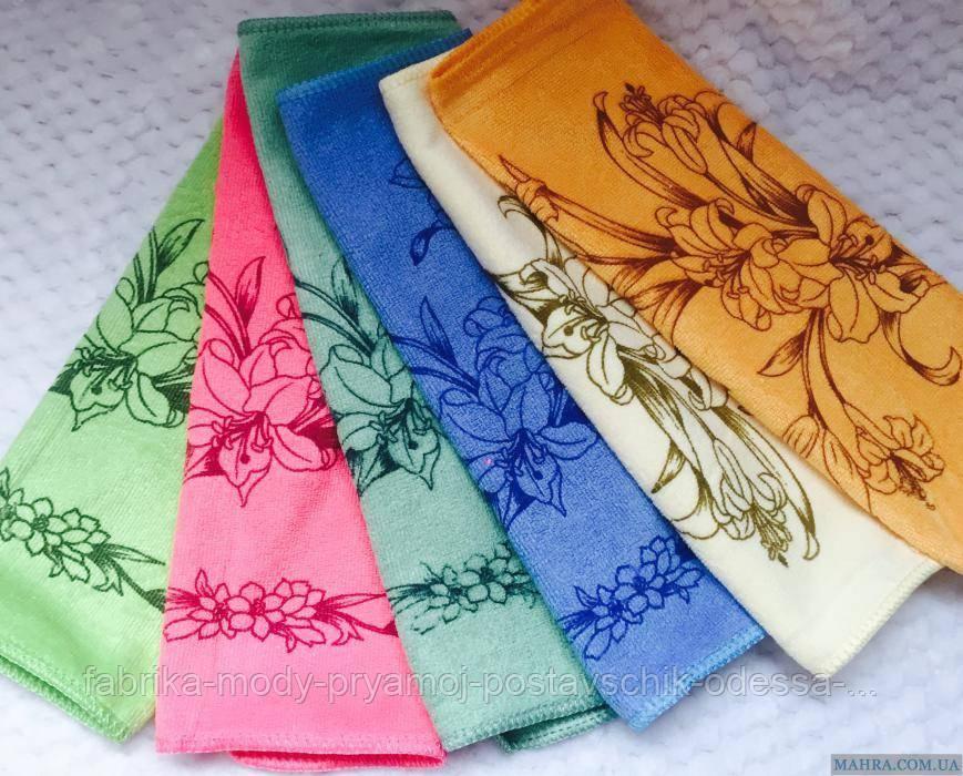Полотенце для кухни Лилия микрофибра