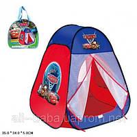 """Палатка с героями мультфильма """"Тачки"""" 811S  в сумке"""