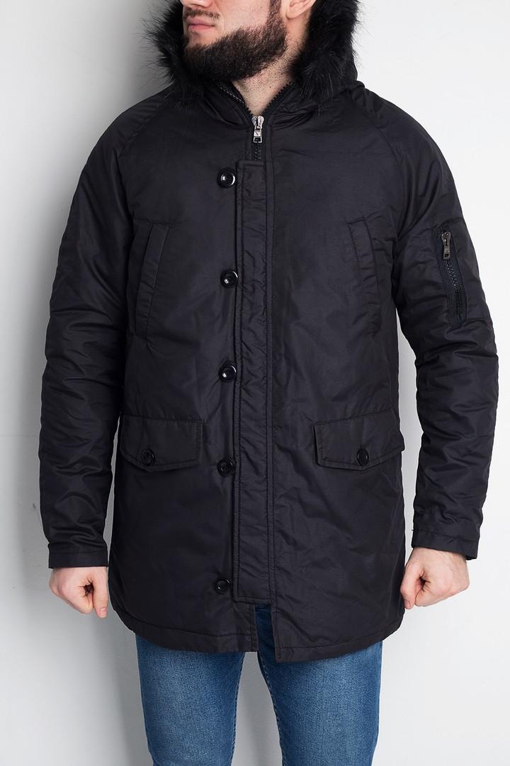 """Куртка мужская без бренда """"Black"""""""